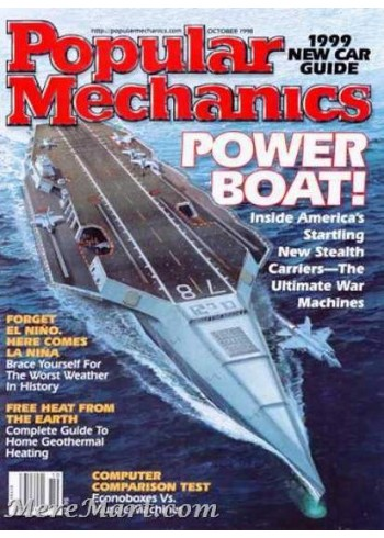 Popular Mechanics, October 1998