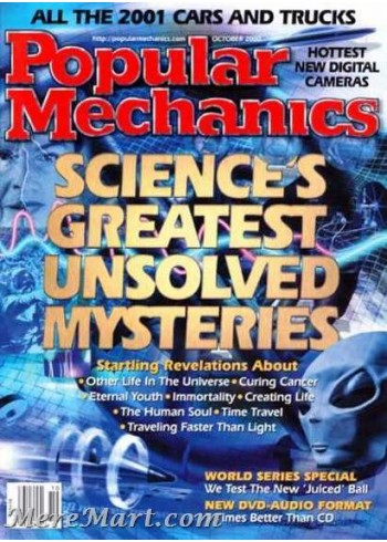 Popular Mechanics, October 2000