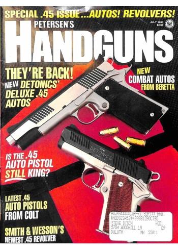 Petersens Handguns, July 1990