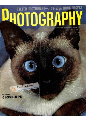 Cover Print of Photography, February 1954