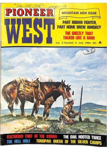 Cover Print of Pioneer West, July 1969