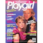 Playgirl, April 1986