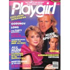 Playgirl, April 1986