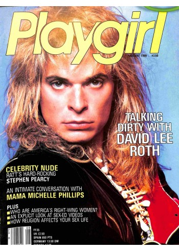 Playgirl, August 1986