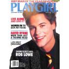 Playgirl, January 1987