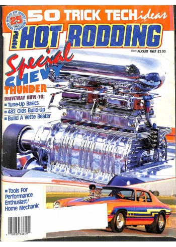 Popular Hot Rodding, August 1987