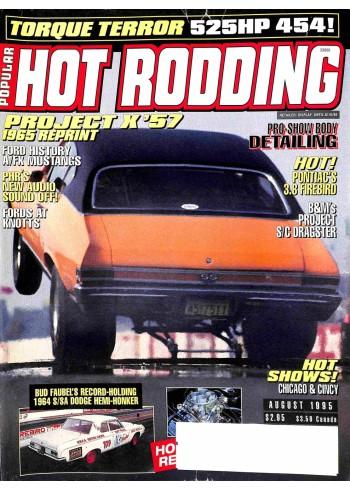 Popular Hot Rodding, August 1995