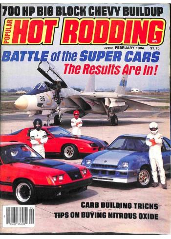 Popular Hot Rodding, February 1984