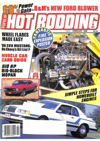 Popular Hot Rodding, February 1986