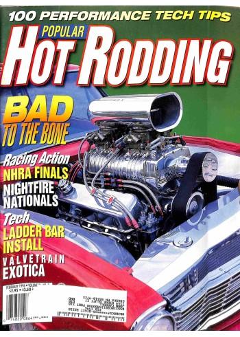 Popular Hot Rodding, February 1996