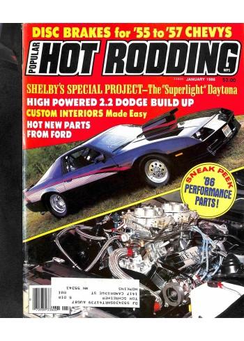 Popular Hot Rodding, January 1986