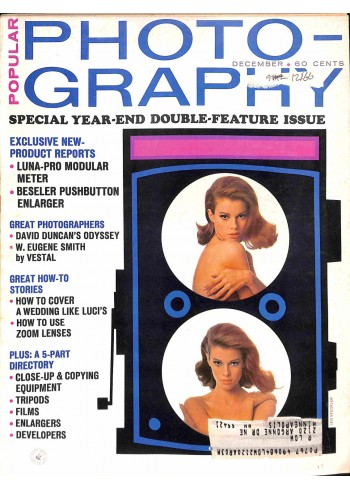 Cover Print of Popular Photography, December 1966