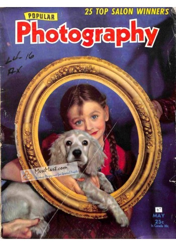 Cover Print of Popular Photography, May 1943