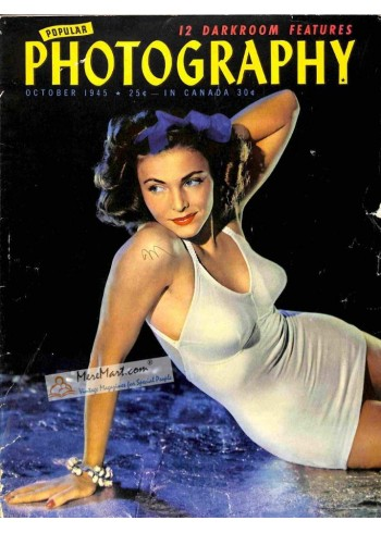 Cover Print of Popular Photography, October 1945
