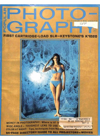 Cover Print of Popular Photography, October 1966