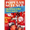 Cover Print of Popular Science, December 1958