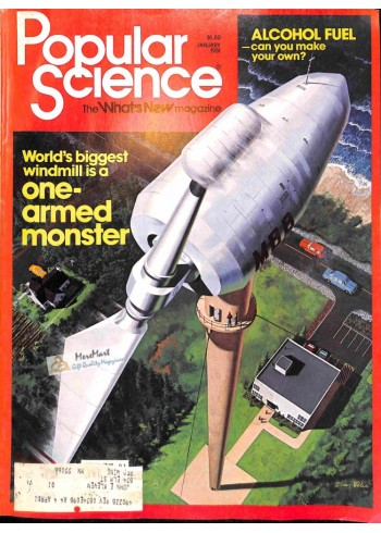 Cover Print of Popular Science, January 1981