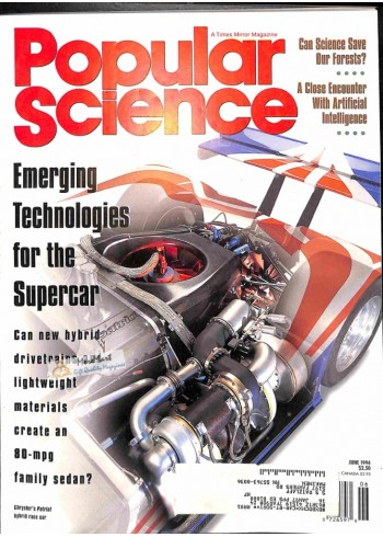 Cover Print of Popular Science, June 1994