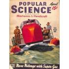 Popular Science Magazine, April 1940