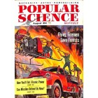 Cover Print of Popular Science Magazine, August 1955