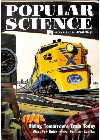 Cover Print of Popular Science, December 1951