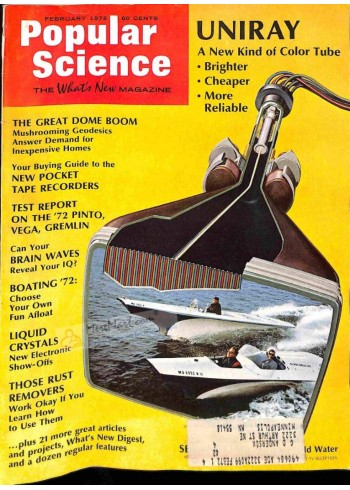 Cover Print of Popular Science, February 1972