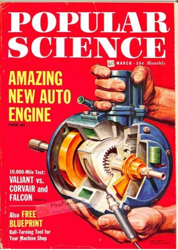 Cover Print of Popular Science, March 1960