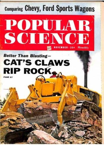 Cover Print of Popular Science, November 1960
