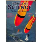 Cover Print of Popular Science, October 1940