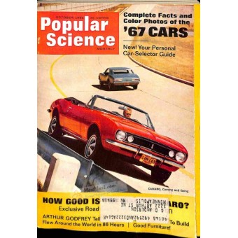 Cover Print of Popular Science, October 1966