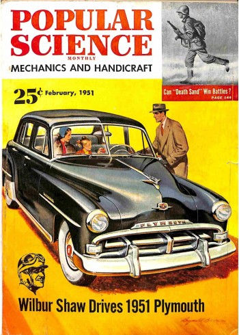 Popular Science, February 1951