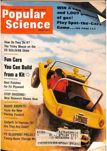 Popular Science, February 1967