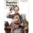 Popular Science, October, 1920. Poster Print. Norman Rockwell.