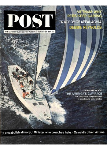 Cover Print of Post, August 22 1964
