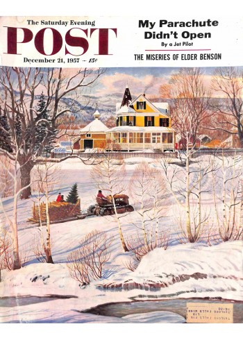 Cover Print of Post, December 21 1957