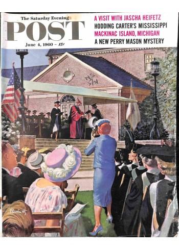 Cover Print of Post, June 4 1960