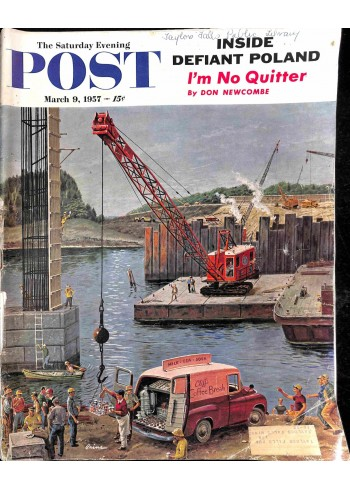 Cover Print of Post, March 9 1957