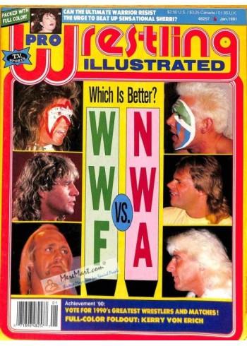 Pro Wrestling Illustrated, January 1991