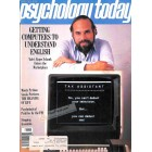 Cover Print of Psychology Today, April 1983