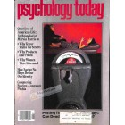 Cover Print of Psychology Today, August 1981