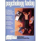 Cover Print of Psychology Today, January 1982