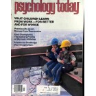 Cover Print of Psychology Today Magazine, July 1980