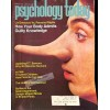 Cover Print of Psychology Today, March 1975