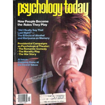 Cover Print of Psychology Today Magazine, March 1980
