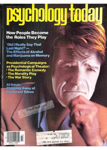 Cover Print of Psychology Today, March 1980