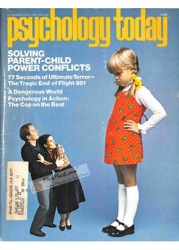 Cover Print of Psychology Today, November 1976