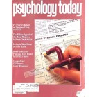 Cover Print of Psychology Today, November 1981