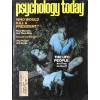 Cover Print of Psychology Today, October 1976