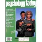 Psychology Today Magazine, October 1981