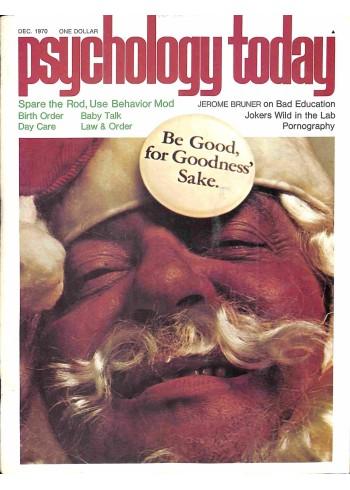 Psychology Today, December 1970